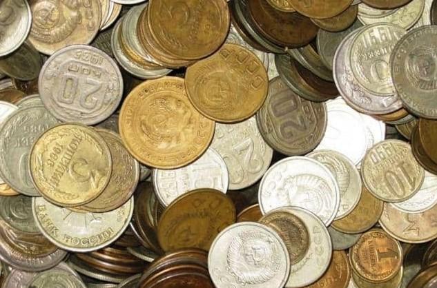 Залежи денежных знаков