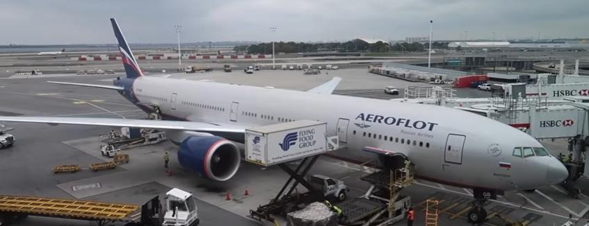 Аэрофлот - самолет - аэропорт